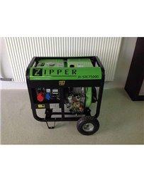 Generador Zipper STE7500D con motor diésel de 6 Kw trifásico | Generadores electricos