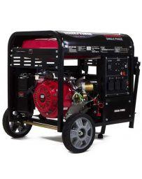 Generador eléctrico monofásico con motor de gasolina de 7.000 W | Generadores electricos