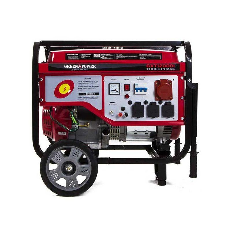 Generador el ctrico trif sico con motor de gasolina de 7 - Generador electrico gasolina ...