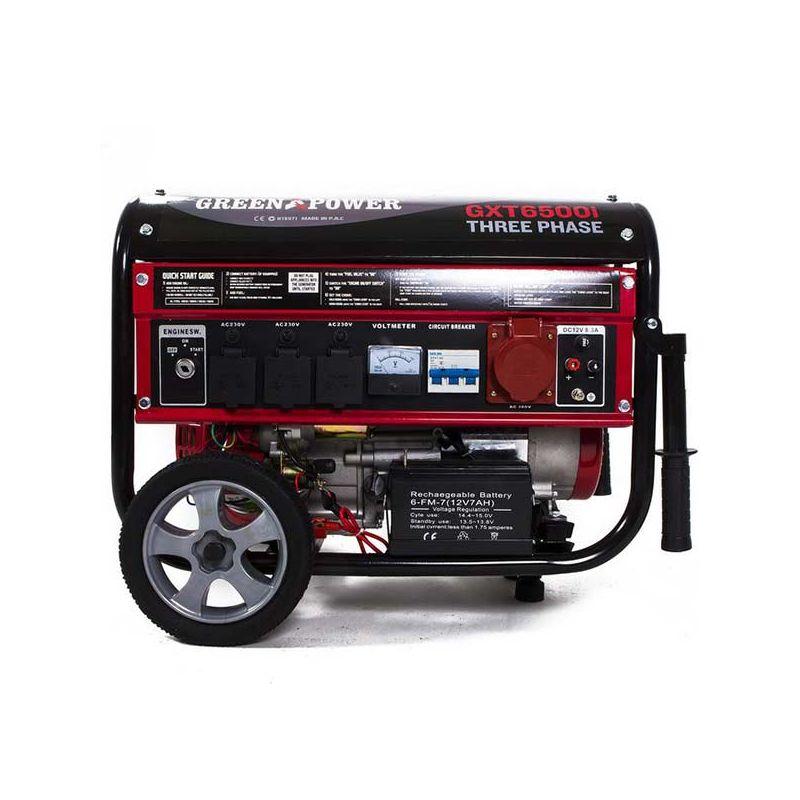 generador el ctrico trif sico con motor de gasolina de w