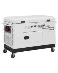 Grupo Electrógeno Kaiser Guardián 20kva Monofásico | Generadores electricos