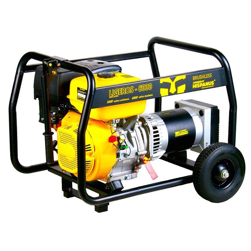 Generador gasolina ligeros 6000wp - Generador electrico gasolina ...