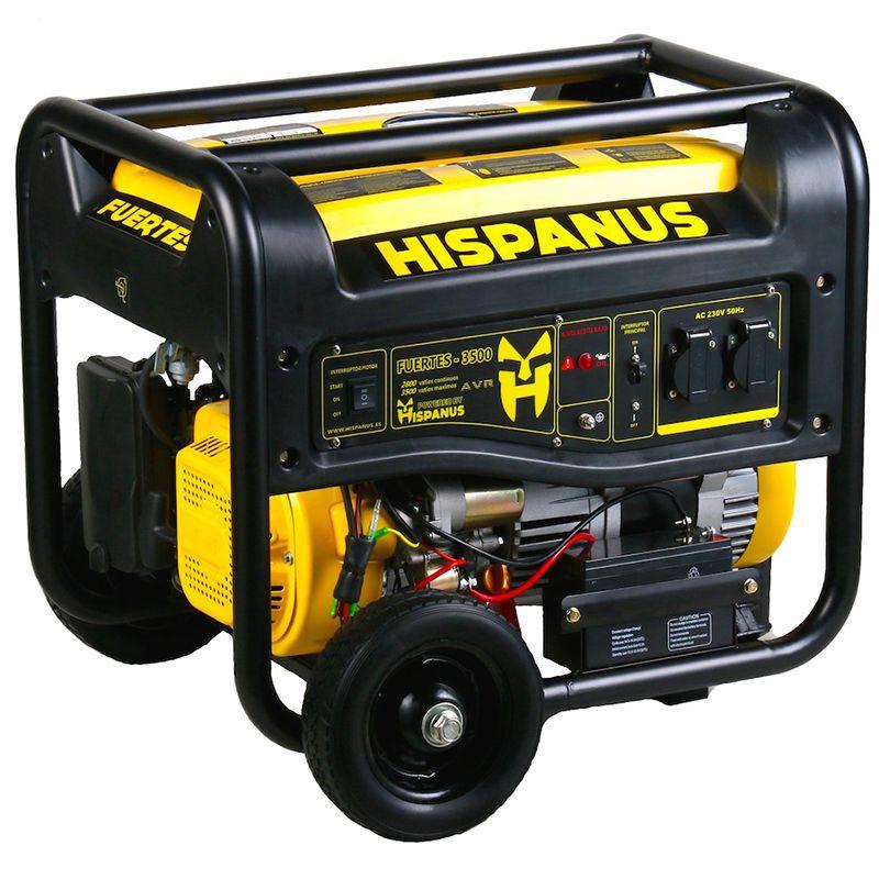 Generador gasolina fuerte 3500wp - Generadores electricos de gasolina ...