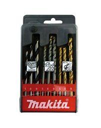 Estuche de brocas Makita para ladrillo, metal y madera
