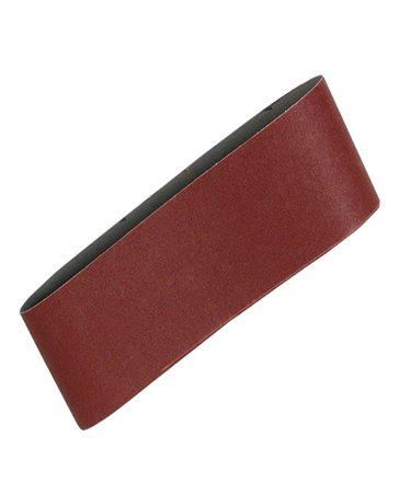 Lijas de banda de 76 x 457 mm. (Rojo)