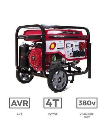 Generador el ctrico trif sico con motor de gasolina de 7 - Generador de gasolina ...