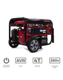 Generador eléctrico trifásico con motor de gasolina de 3.500 W