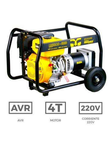 Generador Gasolina Ligeros 6000wp  | Generadores a gasolina