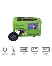 Generador eléctrico trifásico 10Kw | Generadores eléctricos