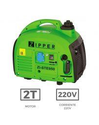Grupo electrógeno Zipper STE950 con potencia de 1,5 Kw