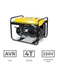 Generador Gasolina 3,0 kVA Garland - BOLT 525 Q | Generador Eléctrico | Generadores electricos