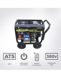 Generador eléctrico diésel trifásico 7500W Kaiser| Generadores eléctrico diésel