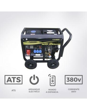 Generador diésel trifásico abierto 7500W | Generadores eléctricos