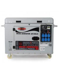 Generador eléctrico diesel 6000w insonorizado