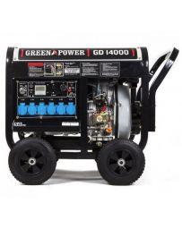 Generador eléctrico Diésel abierto 6000W monofásico automático