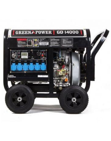 Generador eléctrico Diésel abierto 6000W monofásico automático | Generadores electricos