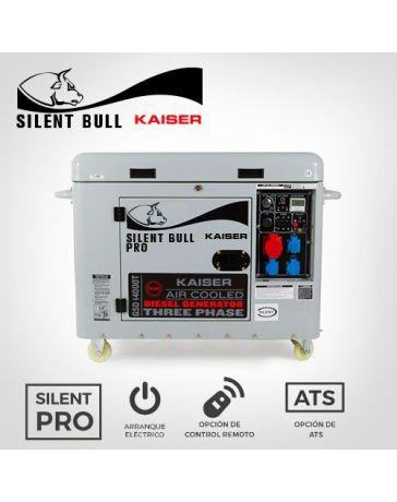 Generador 20Kva insonorizado Kaiser Silent Bull | Grupos Electrógenos