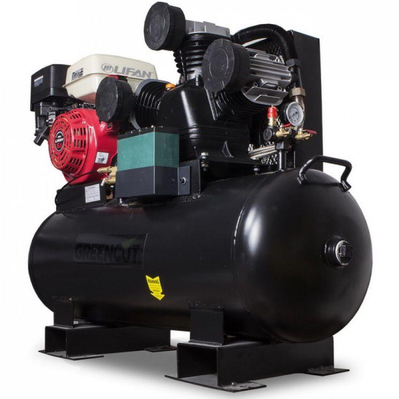 Compresor de aire 15 cv y l min a gasolina y aut nomo - Compresor de aire precio ...