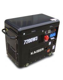 Generador Kaiser Diésel trifásico 7200w Insonorizado | Generador eléctrico diésel