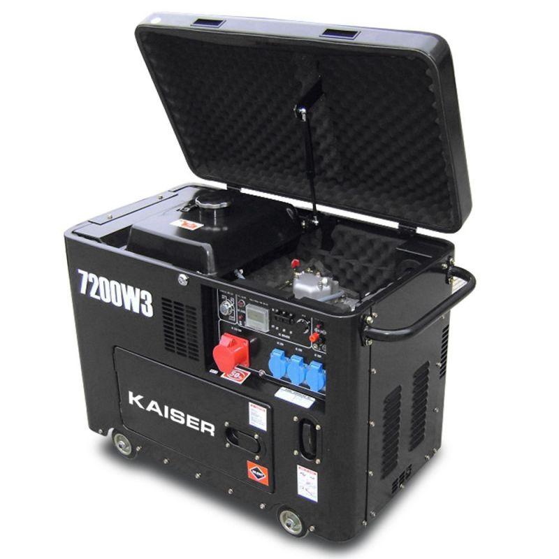 Generador kaiser di sel 7 2 kw trif sico silencioso y for Generador arranque automatico