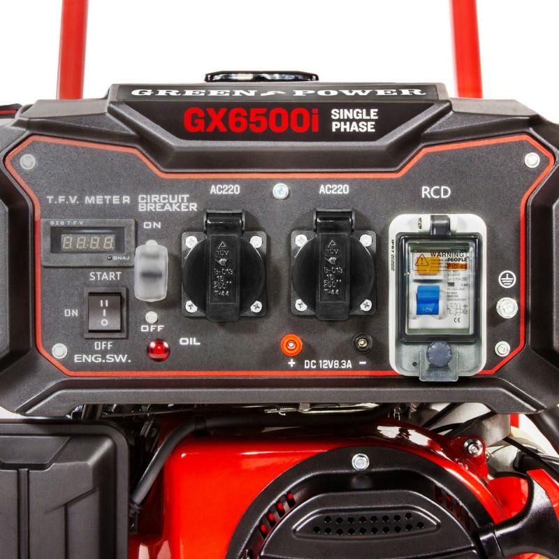 Generador el ctrico gasolina 3500w monof sico - Generadores electricos de gasolina ...