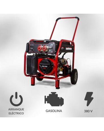Generador eléctrico trifásico motor gasolina 8200W