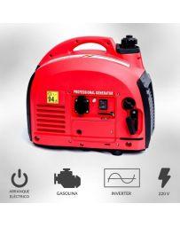 Generador eléctrico gasolina 1200w inverter