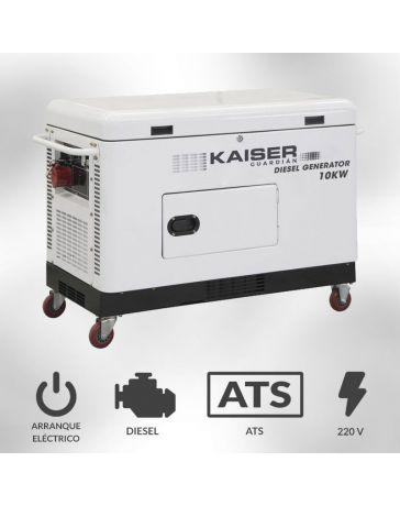 Generador Kaiser Guardián 10kva Monofásico | Generadores electricos