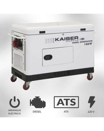 Generador Kaiser Guardián 15kva Monofásico | Generadores electricos