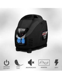 Generador eléctrico 3500W inverter profesional 4 tiempos