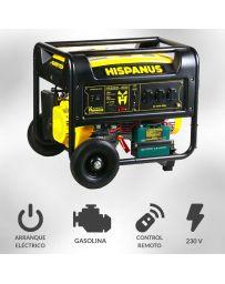 Generador eléctrico gasolina 6000w Hispanus Guardian RC