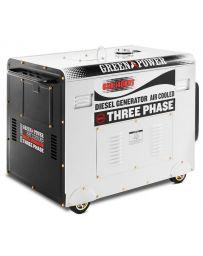 Generador eléctrico silencioso trifásico diésel potencia 420cc