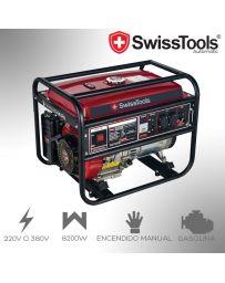 Generador Eléctrico 8200W Swiss Tools Automatic | Gasolina