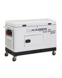 Generador eléctrico diesel Kaiser Guardian 20Kva | Grupo electrógeno