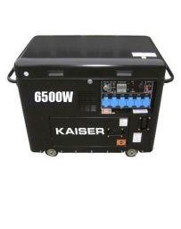 Generador  Diésel 6500w insonorizado Kaiser