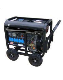 Generador eléctrico diésel 7500W  Kaiser| Generadores eléctrico automático