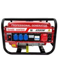 Generador eléctrico gasolina 6500w trifásico Basic series