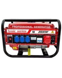 Generador eléctrico 8500W Basic Series Trifásico Gasolina