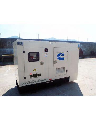 Grupo Electrogeno 30KW Insonorizado motor Cummins y alternador Stamford