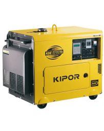 Generador Kipor Diesel 5000w monofásico