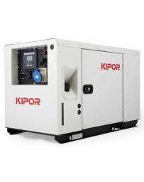 Generador Kipor inverter diesel 10,5 kVA monofásico