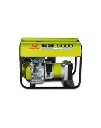 Generador eléctrico portátil a gasolina monofásico PRAMAC ES 5000 de 4,6KW