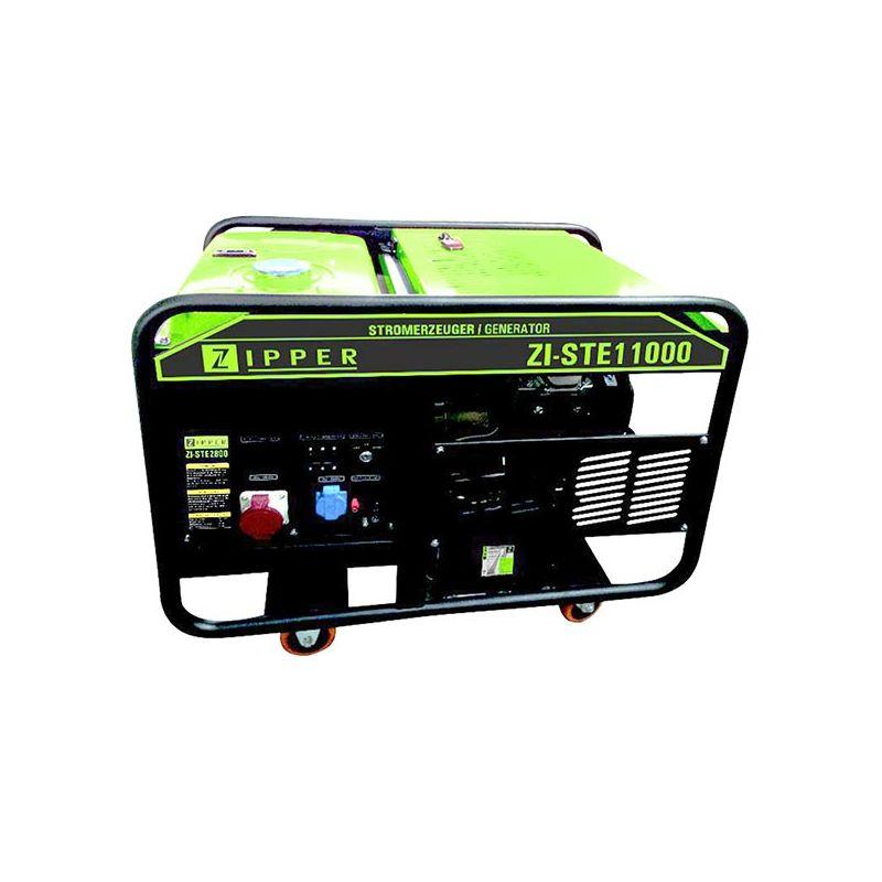 Generador el ctrico zipper ste11000 con motor de 4 tiempos for Generador gasolina barato