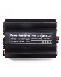 Inversor convertidor de corriente continua de 1.000W a 2.000W DC 12V
