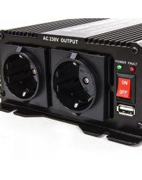 Inversor convertidor de corriente continua de 1.500W a 3.000W DC 12V
