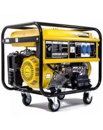 Generador eléctrico de gasolina monofásico de 5000W | Generadores electricos