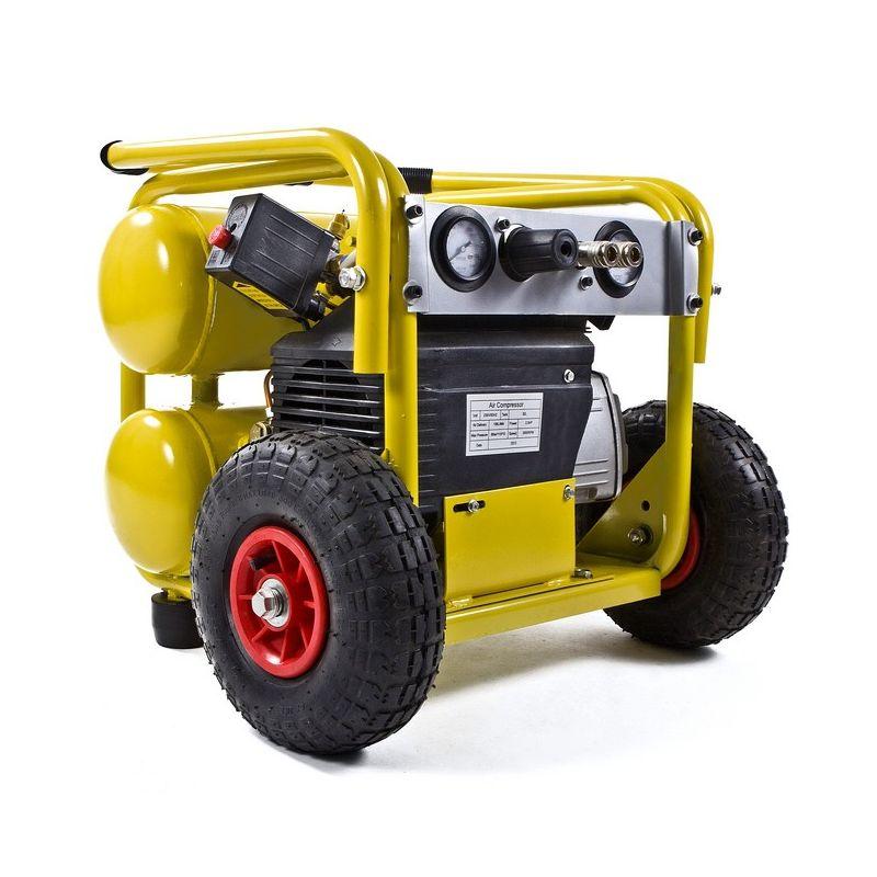 Compresor de aire electrico de 2 5cv y 198 litros - Compresor de aire 25 litros ...