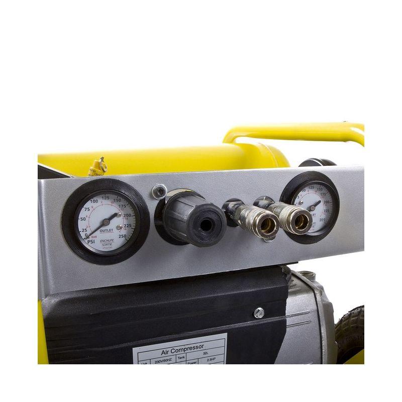 Compresor de aire electrico de 2 5cv y 198 litros - Compresor de aire baratos ...