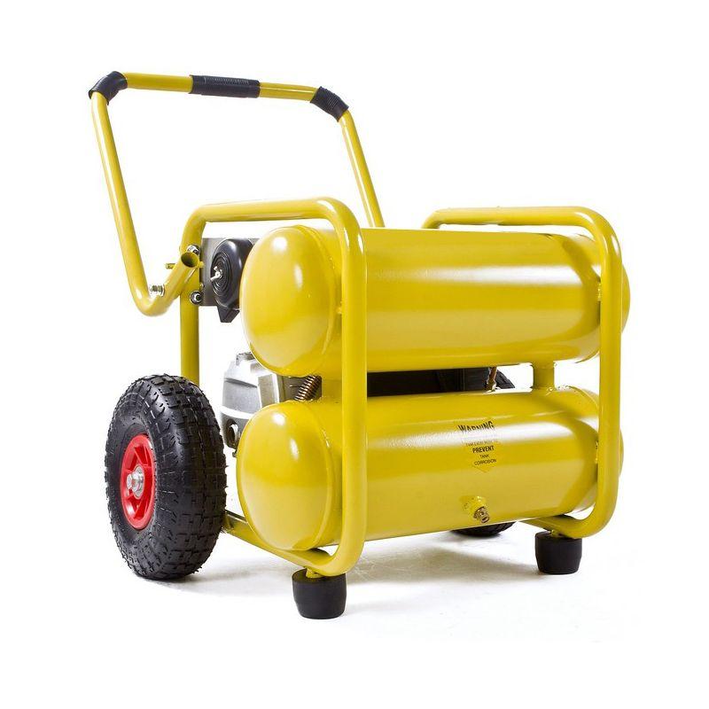 Compresor de aire electrico de 2 5cv y 198 litros - Generador electrico barato ...
