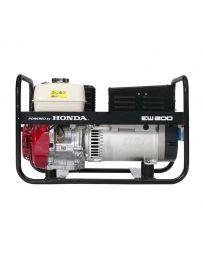 Motosoldadora Honda 6000 VA, monofásica y trifásica REF:  EW-200